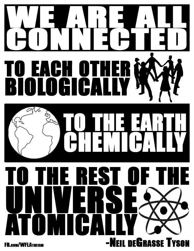 True, I've been hearing tribal elders out here on the Rez say pretty much this same thing for a couple decades now....why..cuz it makes perfect sense, scientific and otherwise. The web of life.