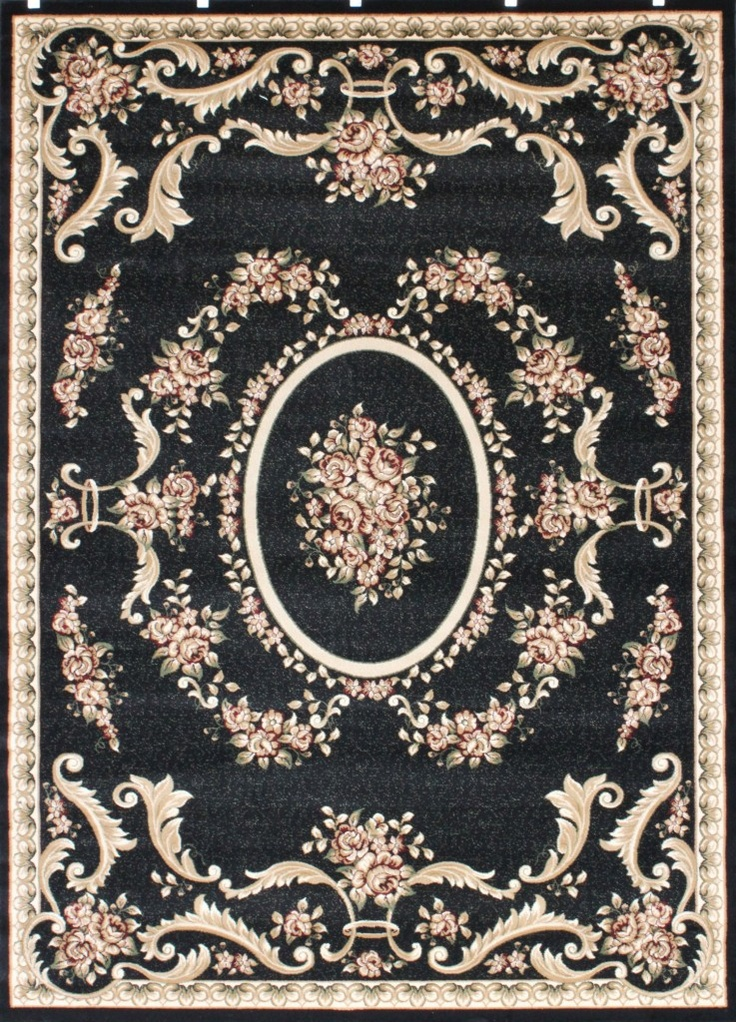 Burgundy Green Beige Black Brown Victorian Area Rug Carpet Floral Large New 654 | eBay  SOmerset, NJ