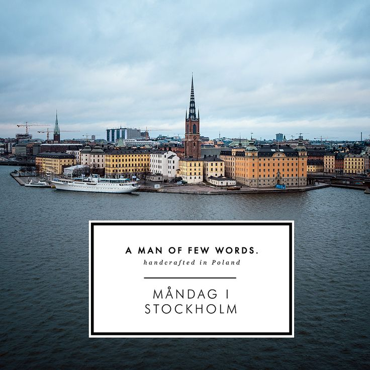 Måndag i Stockholm - collection of upscale, handcrafted leather accesories inspired by scandinavian minimalism and vibrant city of Stockholm - a place for designers, entrepreneurs and many creative talents.