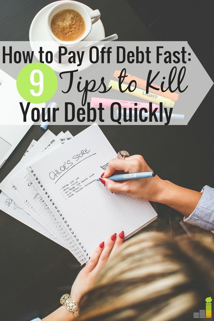 Want to pay off debt faster, but don't believe it's possible? Here are 9 foolproof ways to get out of debt faster and become financially free.