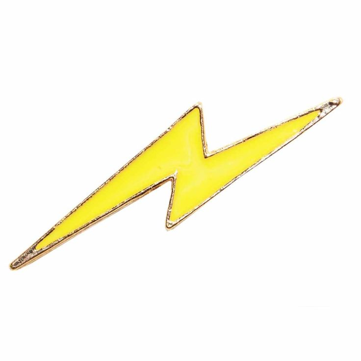 Enamel Pin - Lightning Bolt