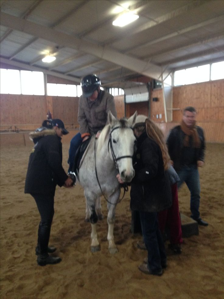 Getting on the horse after 28 years #despiteparkinsonsdiagnosis #trilliumcreekpractice