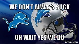 detroit lions suck - YouTube