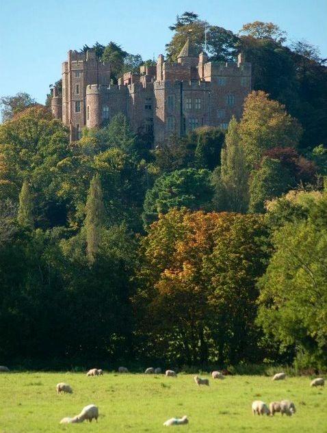 Dunster Castle. Exmoor. Somerset, UK