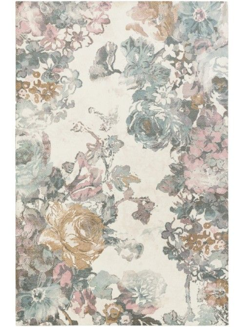 This watercolor beauty offers a feminine and sweet vibe to your nursery or office. Decorate with dark wood furniture and neutral accessories.
