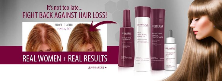 Every woman deserves to thick, full hair. The Keranique System revitalizes your hair and reverses the effects of hair loss.