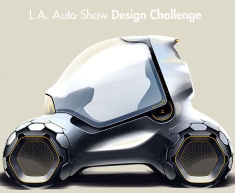 Future Car, Futuristic Vehicle, L.A. Auto Show Design Challenge
