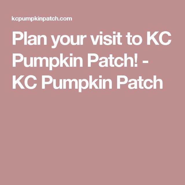 Plan your visit to KC Pumpkin Patch! - KC Pumpkin Patch