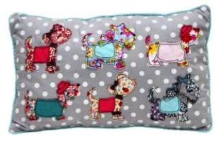 Fashion Dogs Cushion $13 @ www.graceandlace.com.au