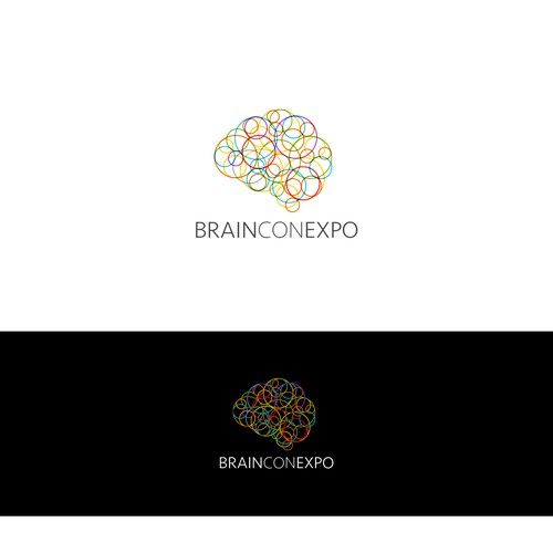 State-of-the-art logo for state-of-the-art nonprofit! Help revolutionize Brain Con Expo  Design by WIMdesign