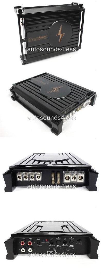 Car Amplifiers: Precision Power P600.2 600 Watts 2-Channel Class D Full Range Car Amplifier Ppi -> BUY IT NOW ONLY: $109.31 on eBay!