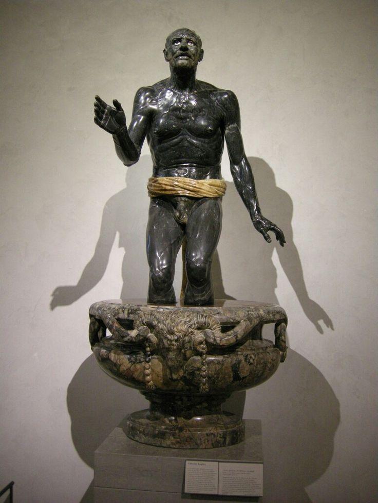 Cosiddetto Seneca morente. Fine III sec. d.C. Louvre