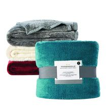 Any Size Threshold™ Fuzzy Blankets from Target Canada $20.00 (50% Off) -
