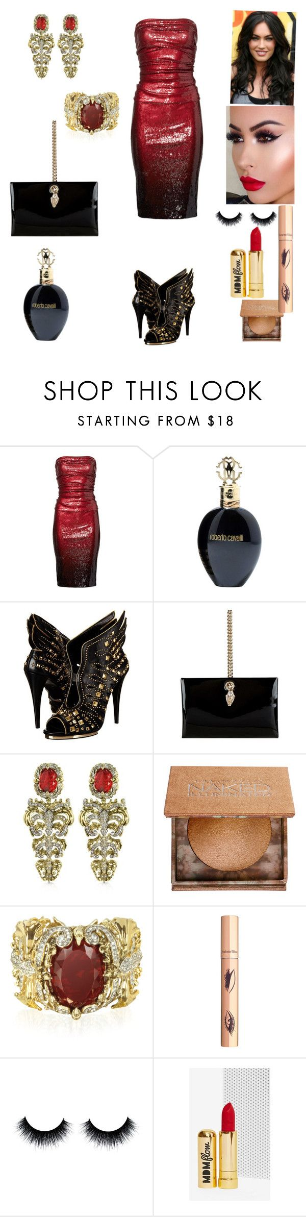 """Untitled #182"" by iraida-g ❤ liked on Polyvore featuring Donna Karan, Roberto Cavalli, Urban Decay and MDMflow"