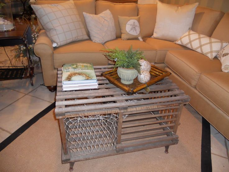 Lobster Trap Coffee Table Lobster House