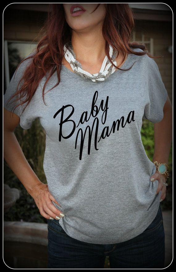 Baby Mama Shirt Prego Shirt Pregnant Mom To Be by TheStickerPlace, $18.99