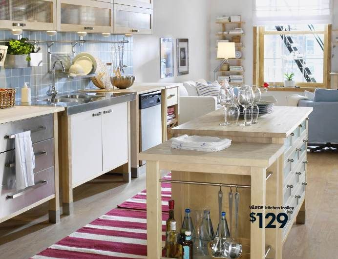 637 best Non-Traditional(Mostly) Small to Medium Kitchen Design - udden küche gebraucht