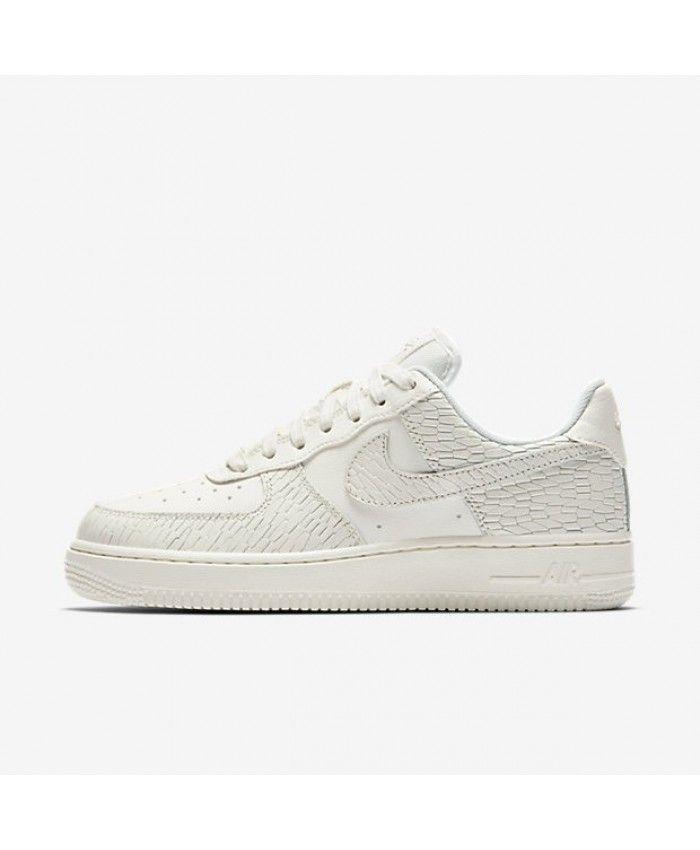 best website eddea 7cffc Nike Air Force 1 07 Premium Womens Sail Light Bone White Sail Shoe