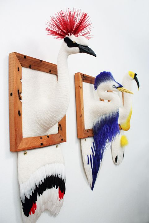 Animal Felt Art by Zoe Williams