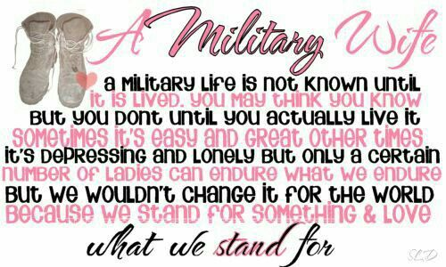 I proud army wife