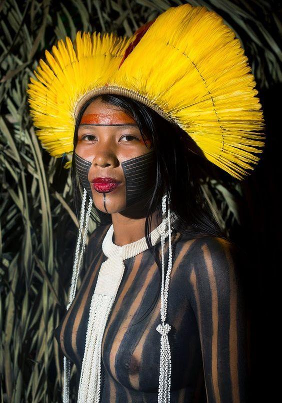 A Jurubeba Cultural:   ● Gente ... do planeta.  (Caiapó, Amazonas. Brasil).