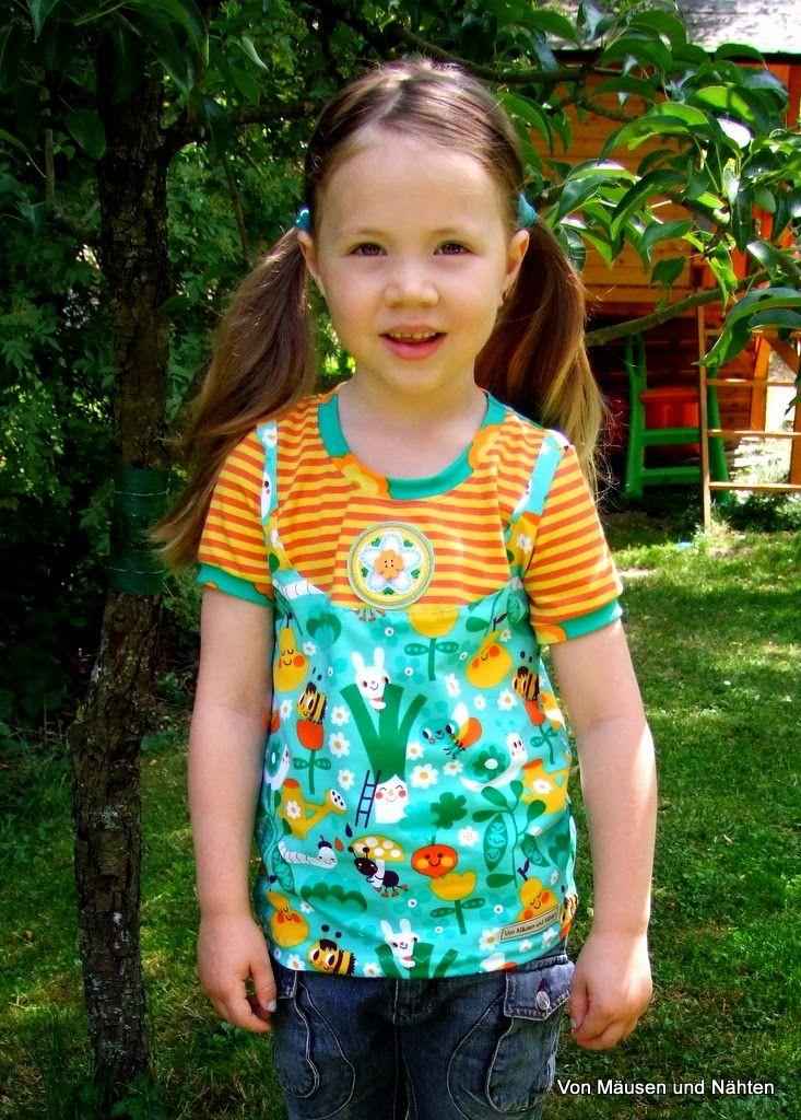 ShirtLina - ki-ba-doo In the garden - Lillestoff