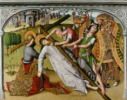 The Road to Calvary, by Anton and Diego Sanchez