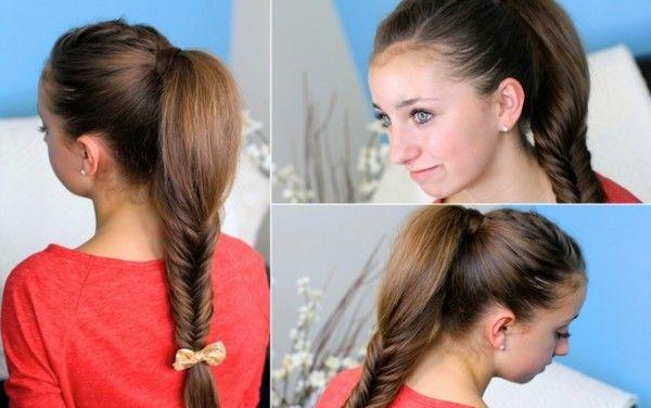 Fishtail Braid Girly Hairstyles Long Hair