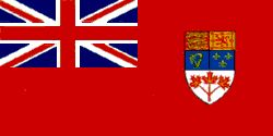 Historical Flags in Canada | Canadian Red Ensign (1957-1965)