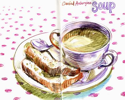 Lynne Chapman - An Illustrator's Life For Me!: lunch