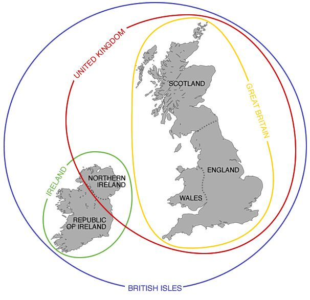 England vs Great Britain vs United Kingdom Explained - Brilliant Maps