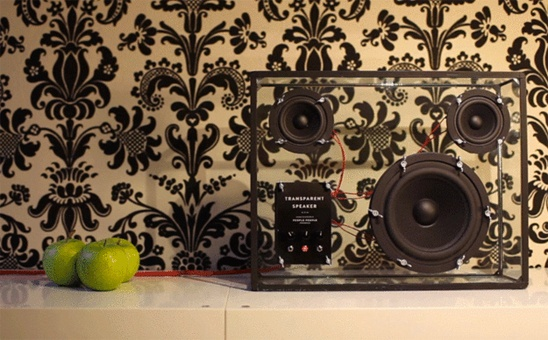 """Sometimes you wonder """"where can I find speakers that will blend my home decor?"""" Well the answer is here,The Transparent Speaker, a new project available on Kickstarter.com, designed by Swedish-based companyPeople People, is a transparent glass box that highlights the black drivers — one 6.5-inch sub woofer and two 3-inch [...]"""