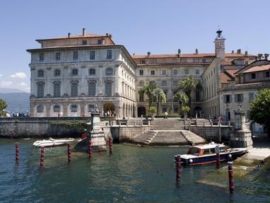 Borromeo Palace. Lago Maggiore - Isola Bella