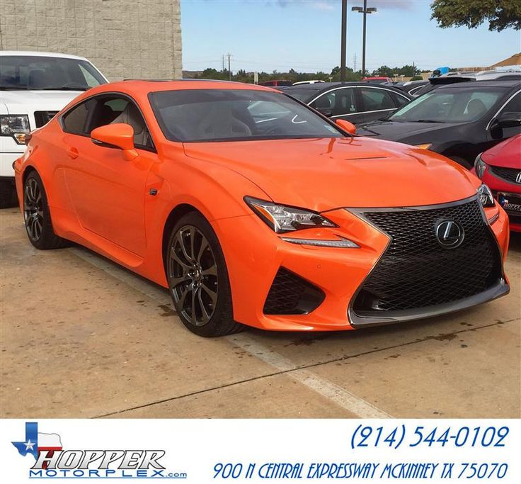 Check out this brand new 2015 Lexus RC FSport we just got
