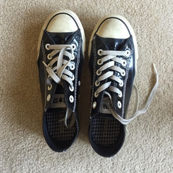 ALL STAR Converse Black Patent Leather Converse All Star Converse must have. Converse Shoes