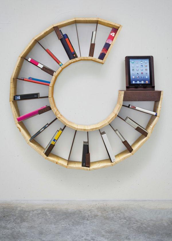 Die Klassischen Bücherregale Sind Nicht Schlecht, Aber Wie Wäre Es Mit  Etwas Neuem, Erfrischendem Und Originellem? Etwas Attraktives Wünschen Sie  Sich ...