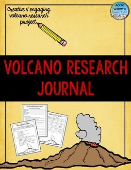 Volcano Project - Students pretend to be a scientist studying an active volcano anywhere in the world - luckily during their research the volcano erupts.  They must write a 1st person account of their volcano research.  Includes detailed assignment sheet, research organizers (short version for more advanced students and longer version for less advanced) and a marking rubric.