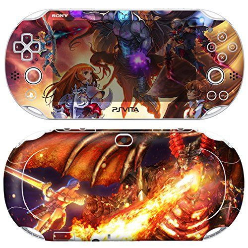 Skin Decal Sticker For Ps Vita 2000 Series Pop SkinRagnarok Odyssey Ace 01Screen ProtectorOffer Wallpaper Image *** You can get more details by clicking on the image.Note:It is affiliate link to Amazon.