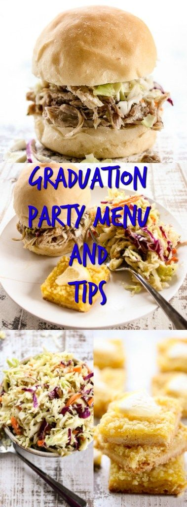 Graduation Party Menu and Tips