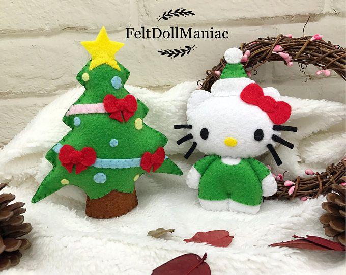 Gnome Santa And Mushroom Plush Sewing Pattern Felt Doll Pdf Download Svg Files Felt Ornaments Christmas Decoration In 2021 Felt Ornaments Felt Dolls Felt Crafts