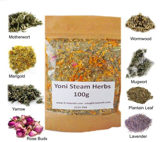 Yoni Steam Herbs 100g by 9naturals on Etsy