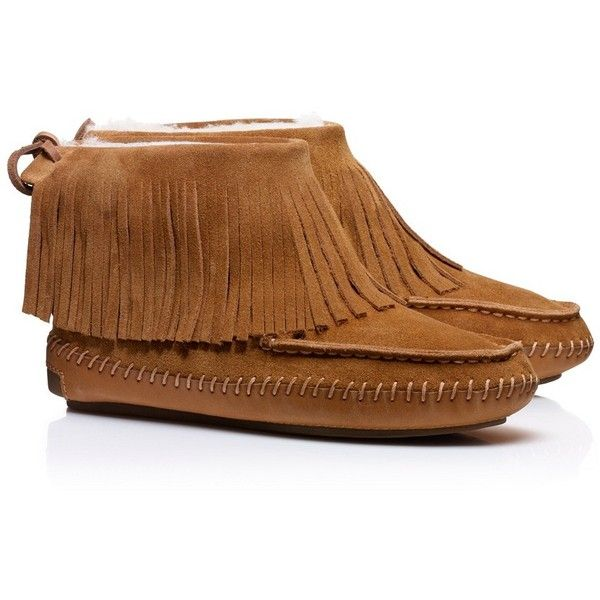 Tory Burch Collins Fringe Moccasin | I'm sure Minnentonka has a cheaper version but these are really cute.