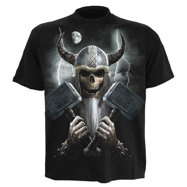 Spiral Celtic Warrior T-shirt Short Sleeve Adult This Celtic Warrior is to be feared! He is ready to rampage through the night brandishing two massive hammers. Beware of the Celtic spirit.Features- High quality jersey- 100% cotton- Uses skin friendl http://www.MightGet.com/march-2017-1/spiral-celtic-warrior-t-shirt-short-sleeve-adult.asp