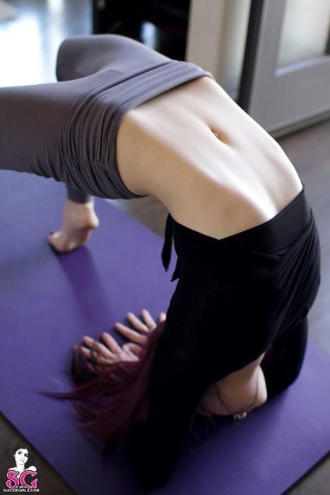107 Best Challenging Yoga Images On Pinterest Back