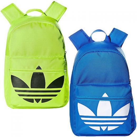 Adidas Originals Classic Trefoil Travel College School Rucksack Backpack Bag 100% Polyester One Size Soft