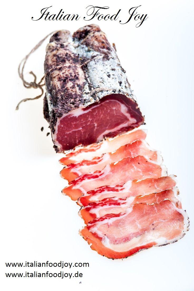 #Cured #pork #loin  with #Barolo DOCG #wine #Italian #Food #Joy #ausgehärteten #Schweinelende mit #Barolo www.italianfoodjpy.de fur D und AT www.italianfoodjoy.com for EU countries