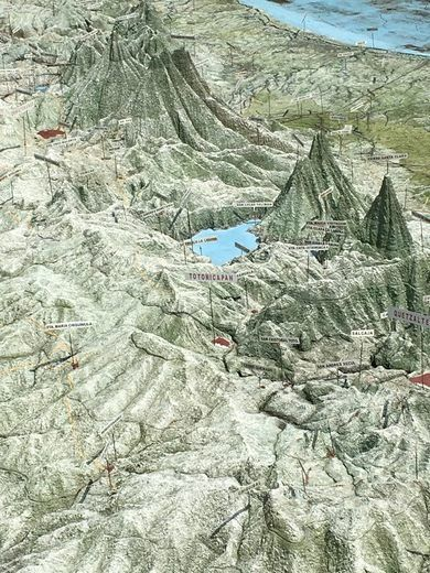 Mapa en Relieve (Relief Map) – Guatemala, Guatemala - Atlas Obscura