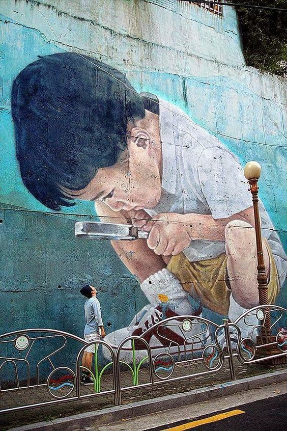 Beautiful Street Art Ideas On Pinterest Urban Street Art - People cant decide if theyre ok with this street artists ironic messages