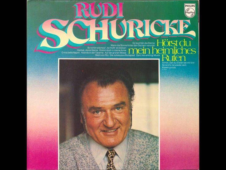 Rudi Schuricke - Komm zurück (Au Revoir) (J'Attendrai) Deutscher Schlage...