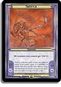 Magic the Gathering SERRA Vangard Oversize card